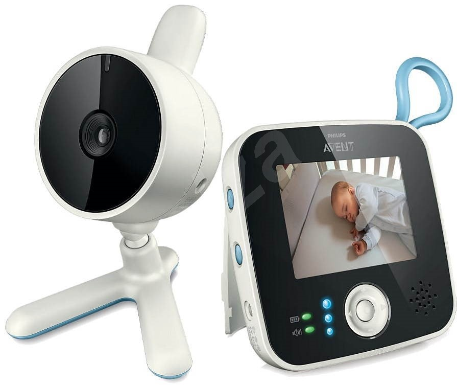 philips avent scd610 00 electronic baby monitor. Black Bedroom Furniture Sets. Home Design Ideas