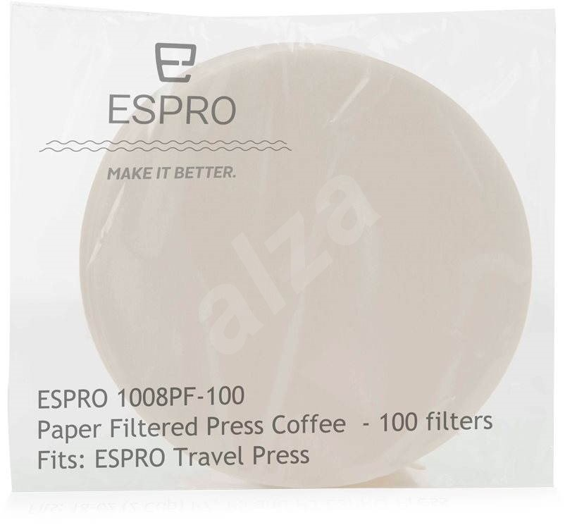 Coffee Maker Without Paper Filter : ESPRO Paper coffee filters for Travel Press - Coffee Alzashop.com