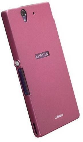 Krusell COLORCOVER pro Sony Xperia Z pink - Back Case ...