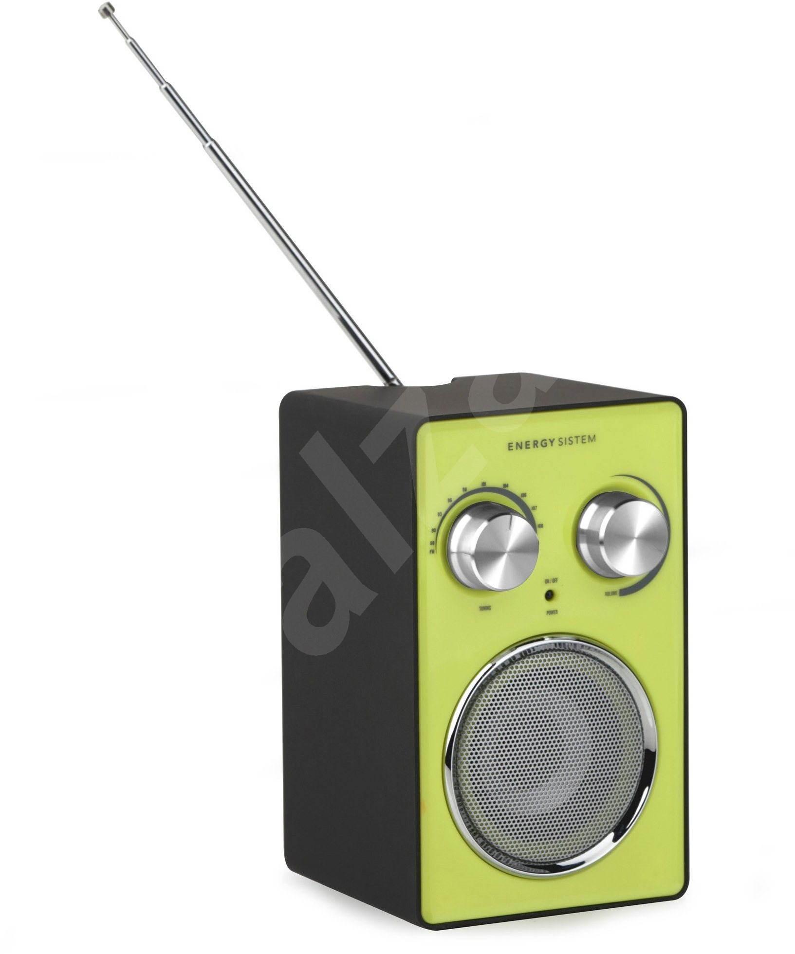 Energy Sistem Fm Radio 210 Black Green Alzashop Com