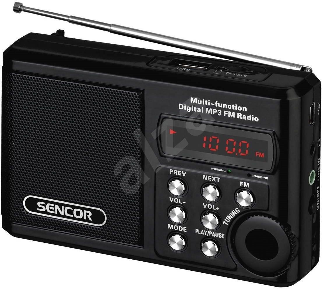 Sencor SRD 215 B black - Radio | Alzashop.com