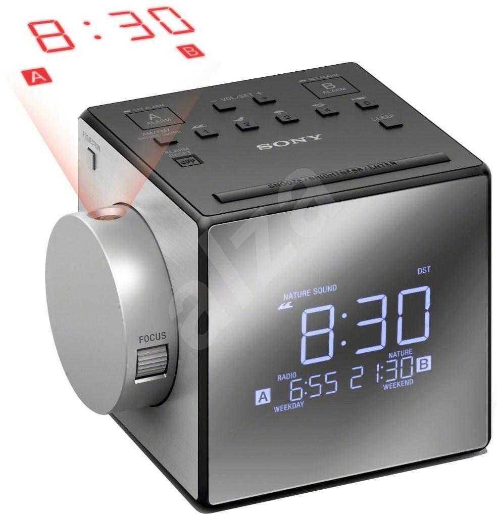 sony icf c1pj radio alarm clock. Black Bedroom Furniture Sets. Home Design Ideas