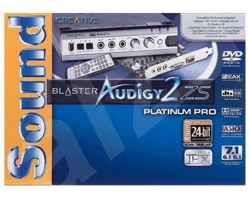 Soundblaster Audigy 2 Zs Platinum Pro Manual