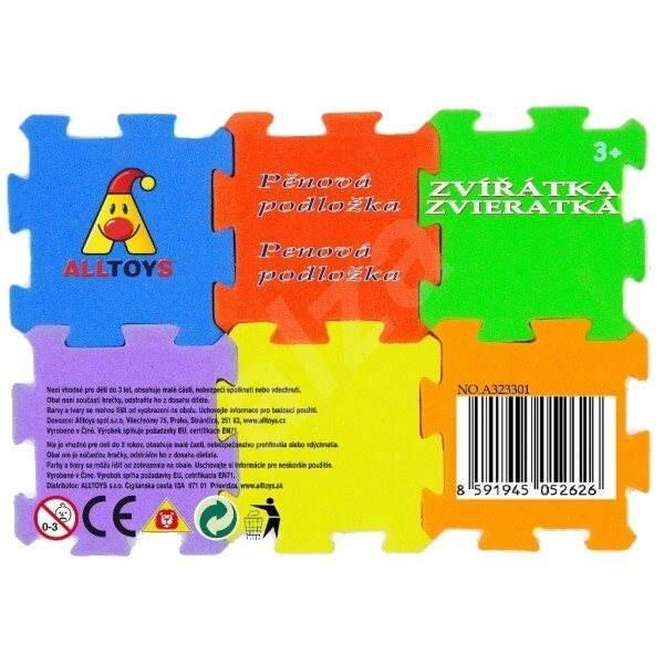 Schaumstoffmatte tiere und fahrzeuge deko f rs for Kinderzimmer fahrzeuge