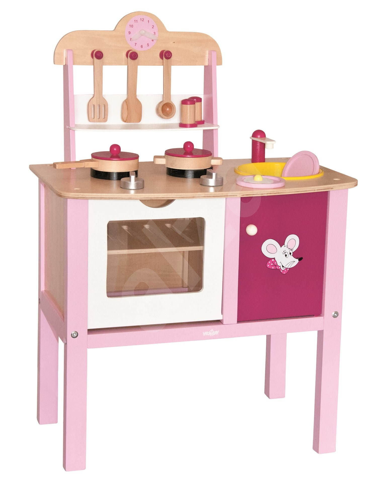 A small kitchen trendy children 39 s kitchen set for Small childrens kitchen