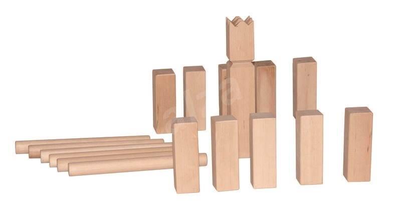 garten spiel kubb outdoor spiel spielzeug. Black Bedroom Furniture Sets. Home Design Ideas