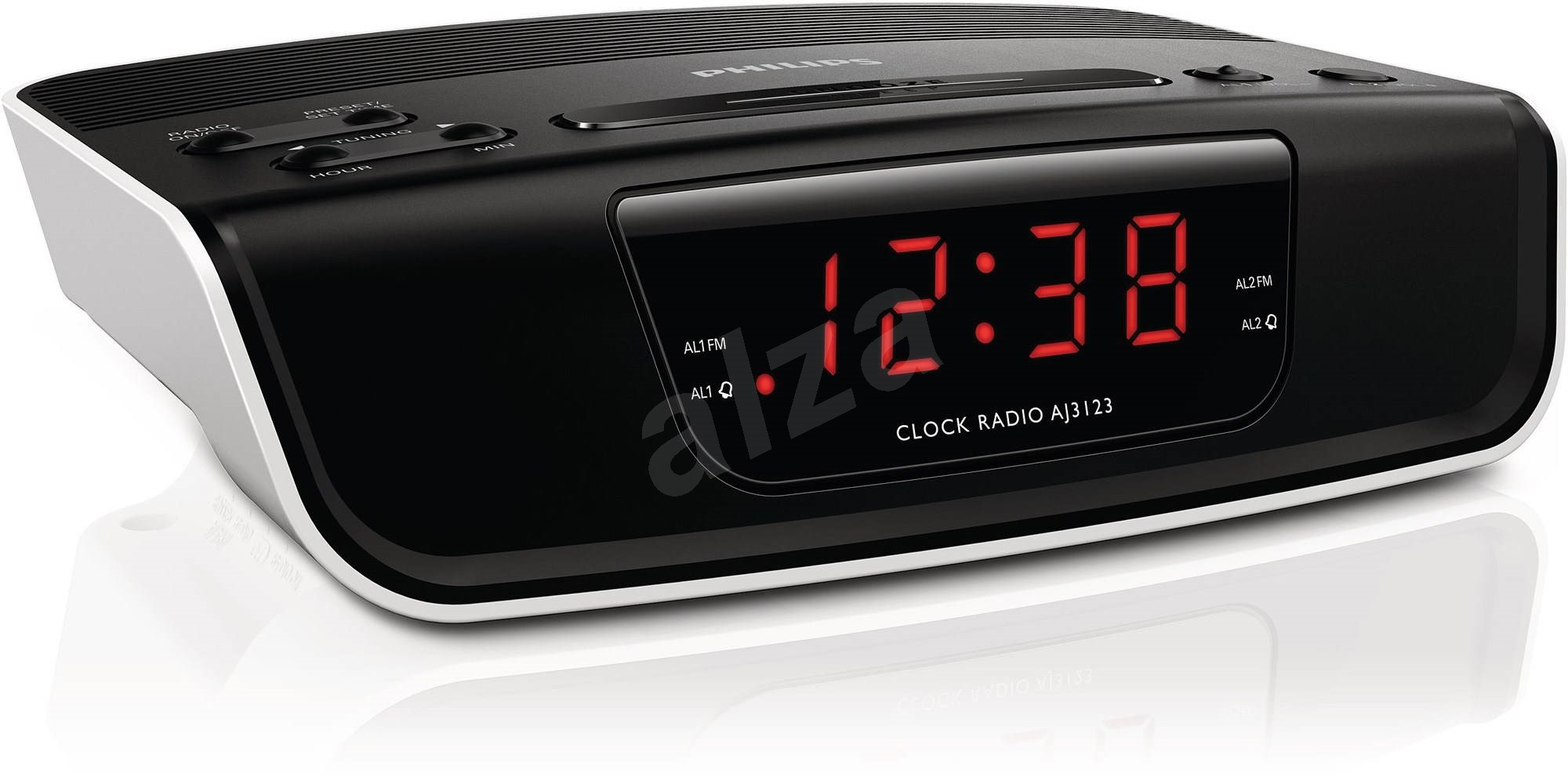 Philips Aj3123 D310770 on trendy clock radio