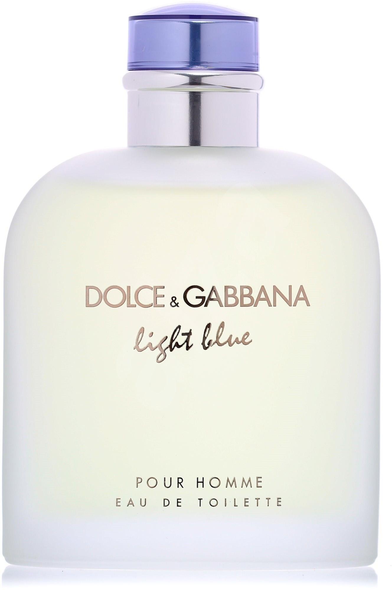 dolce gabbana light blue pour homme edt 125 ml herren. Black Bedroom Furniture Sets. Home Design Ideas