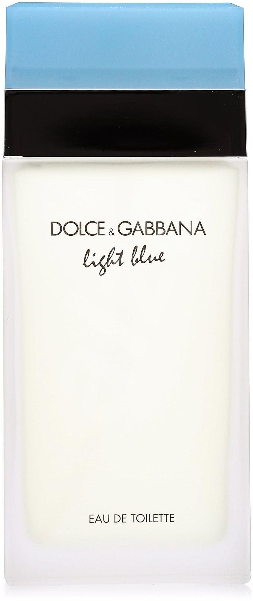 dolce gabbana light blue 50 ml eau de toilette trendy. Black Bedroom Furniture Sets. Home Design Ideas