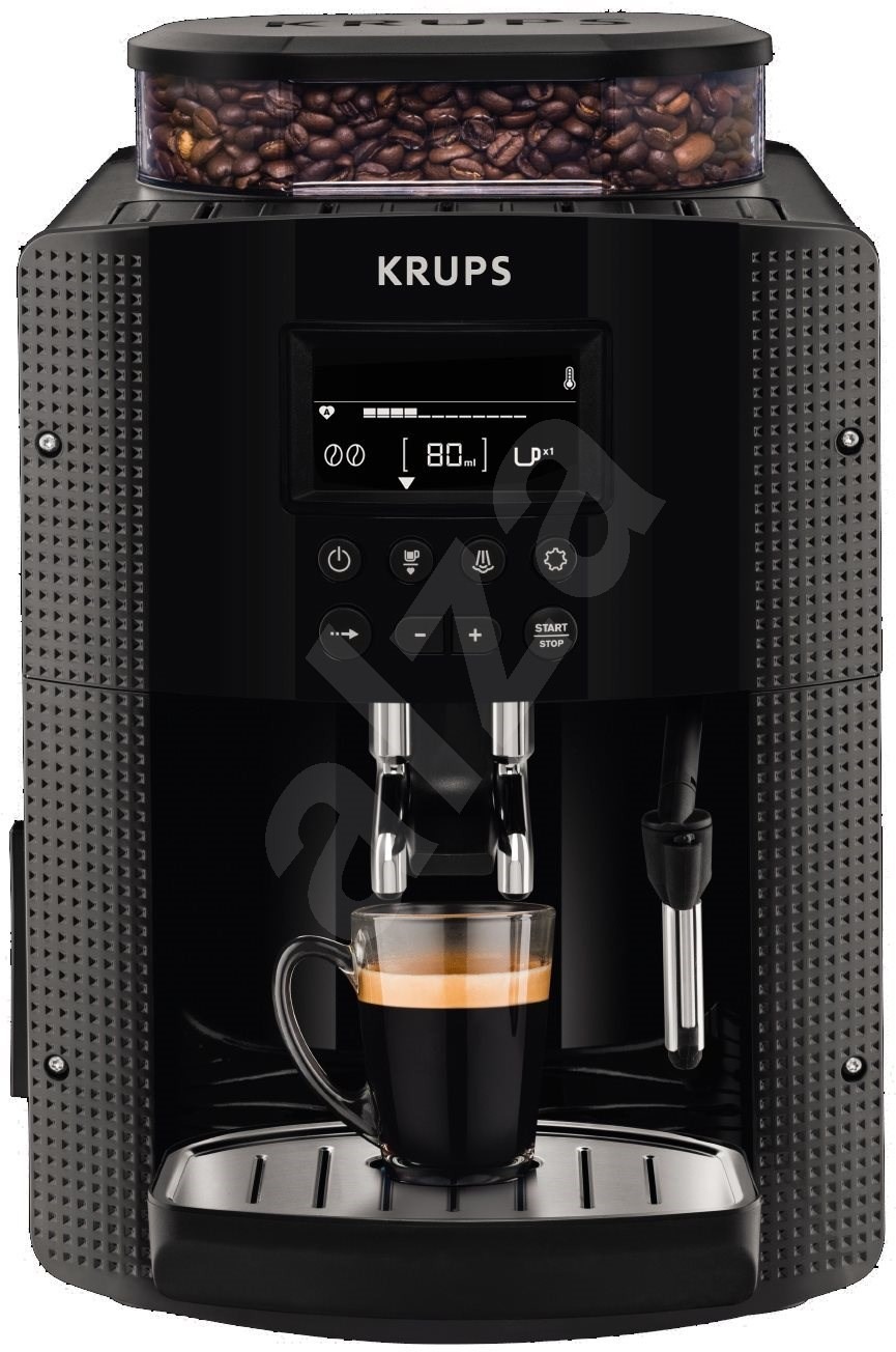 krups espresseria auto pisa black ea815070 automatic coffee machine. Black Bedroom Furniture Sets. Home Design Ideas