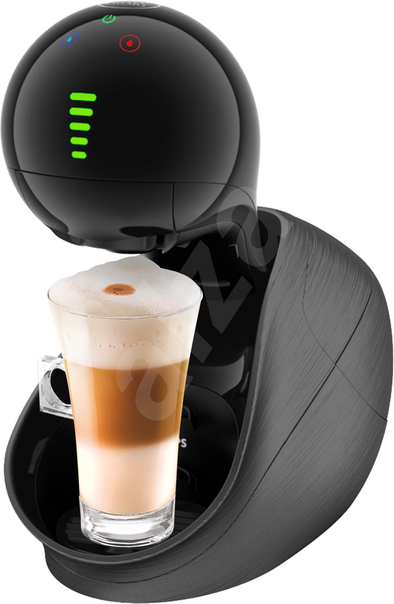 krups nescafe dolce gusto movenza kp600831 black capsule coffee machine. Black Bedroom Furniture Sets. Home Design Ideas