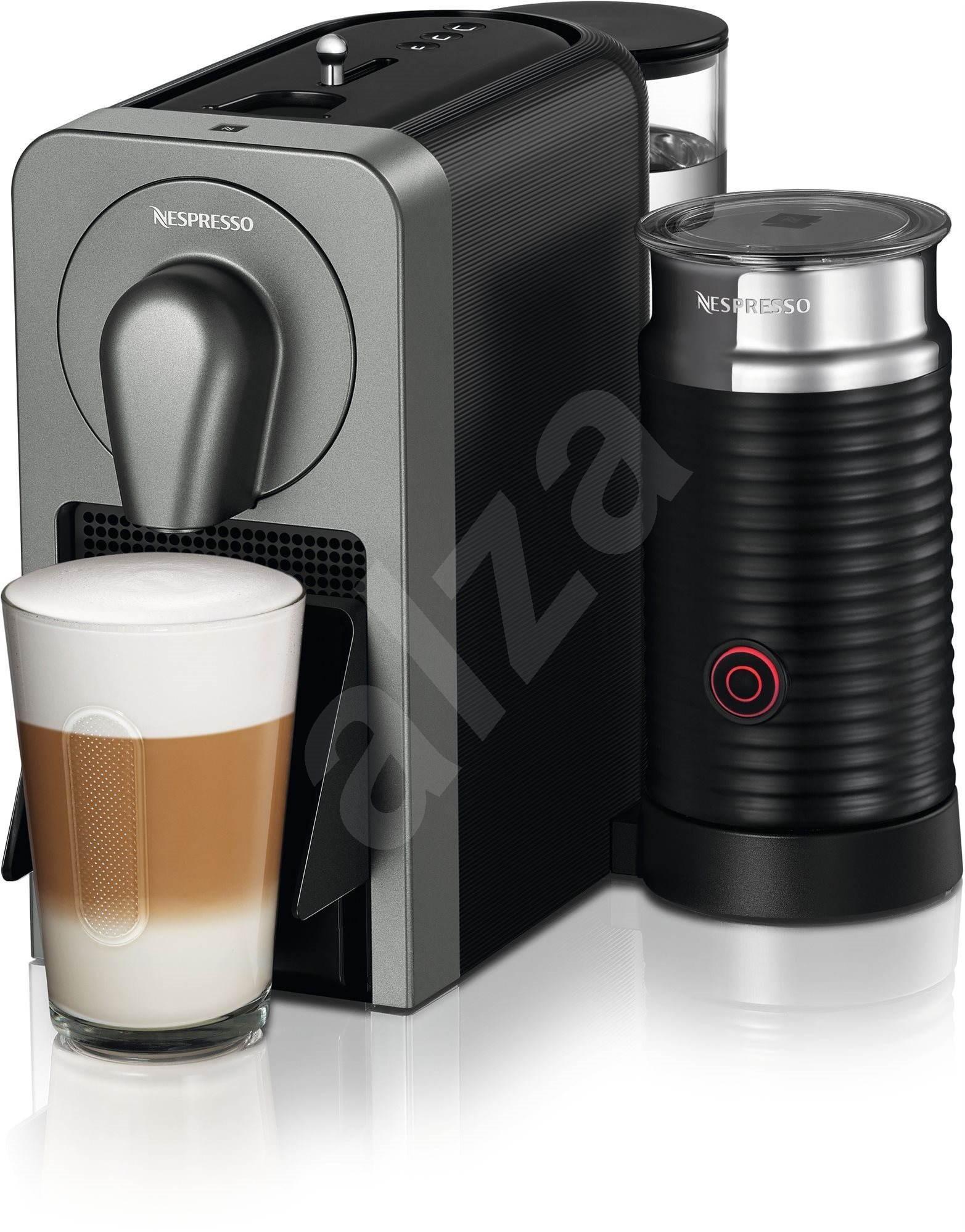 nespresso prodigio milk xn411t kapsel kaffeemaschine. Black Bedroom Furniture Sets. Home Design Ideas