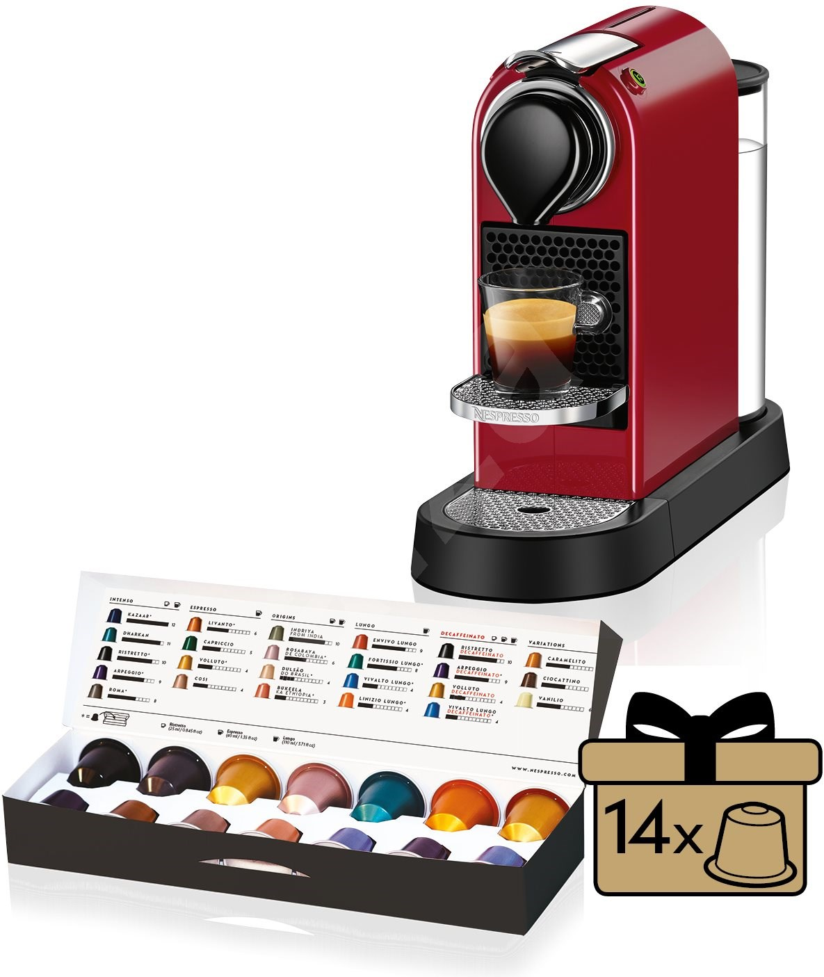 nespresso krups citiz xn740510 capsule coffee machine. Black Bedroom Furniture Sets. Home Design Ideas