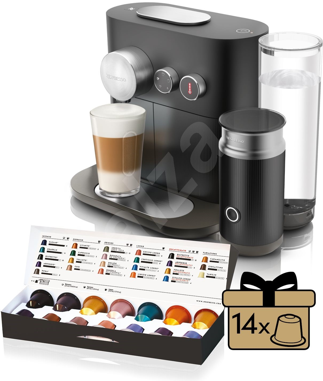 nespresso krups expert xn601810 kapsel kaffeemaschine. Black Bedroom Furniture Sets. Home Design Ideas