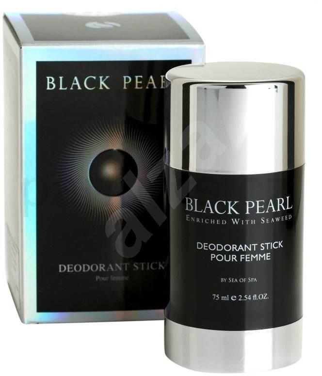 sea of spa black pearl deodorant stick pour femme 75ml d msk deodorant. Black Bedroom Furniture Sets. Home Design Ideas