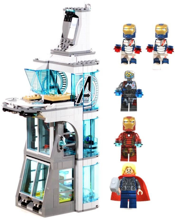 LEGO Super Heroes 76038 Attack on Avengers Tower ...