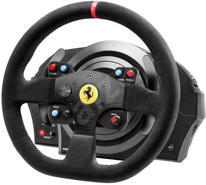thrustmaster t300 ferrari integral racing wheel alcantara. Black Bedroom Furniture Sets. Home Design Ideas
