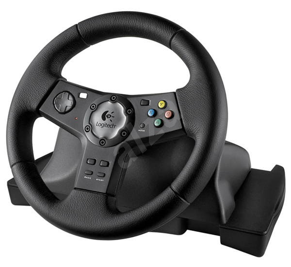 volant logitech wheel precision vibration fb x pro xbox 360. Black Bedroom Furniture Sets. Home Design Ideas