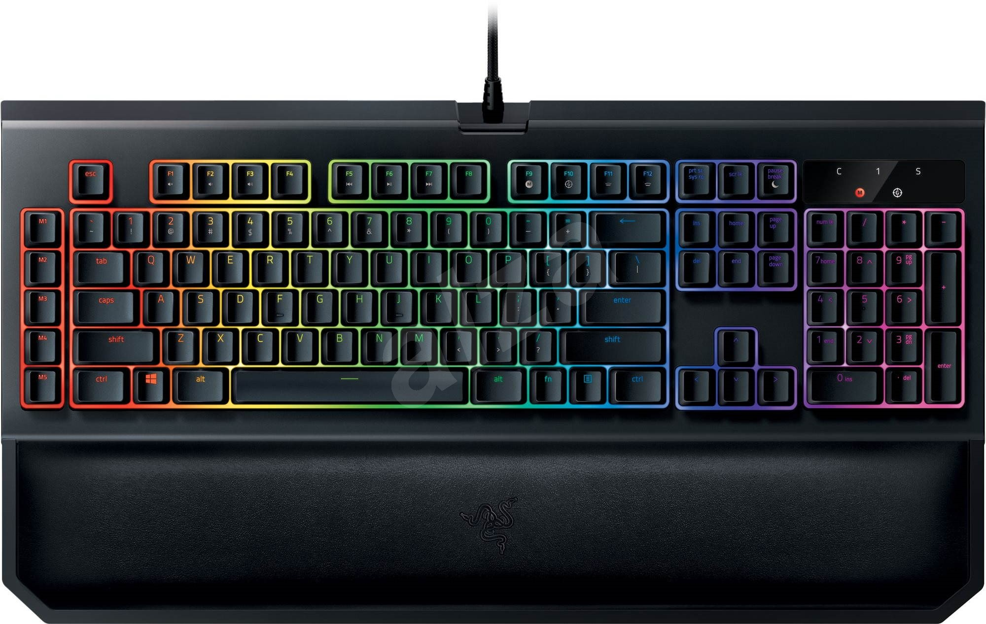 how to change colors on blackwidow chroma
