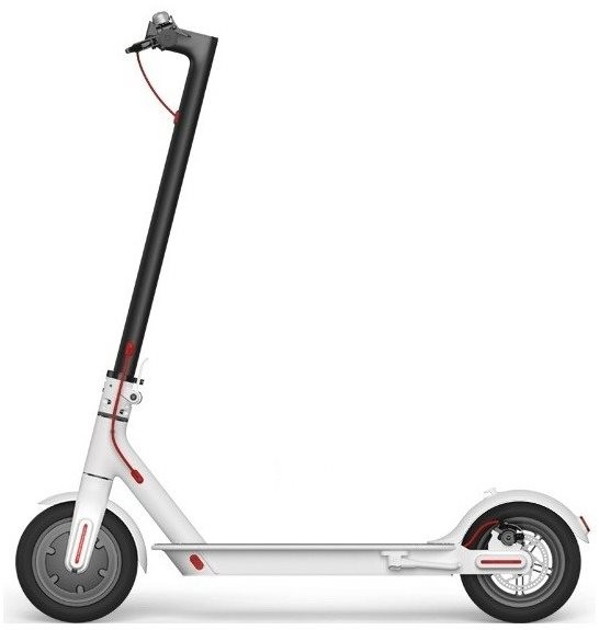 xiaomi mi scooter 2 white electric scooter. Black Bedroom Furniture Sets. Home Design Ideas