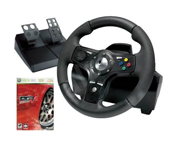 volant pro xbox 360 logitech drivefx axial feedback wheel s hrou project gotham racing 4 cz. Black Bedroom Furniture Sets. Home Design Ideas