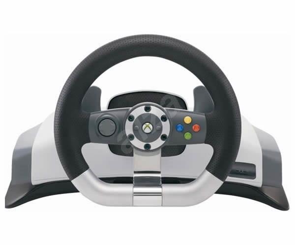 microsoft xbox 360 wireless racing wheel bezdr tov. Black Bedroom Furniture Sets. Home Design Ideas