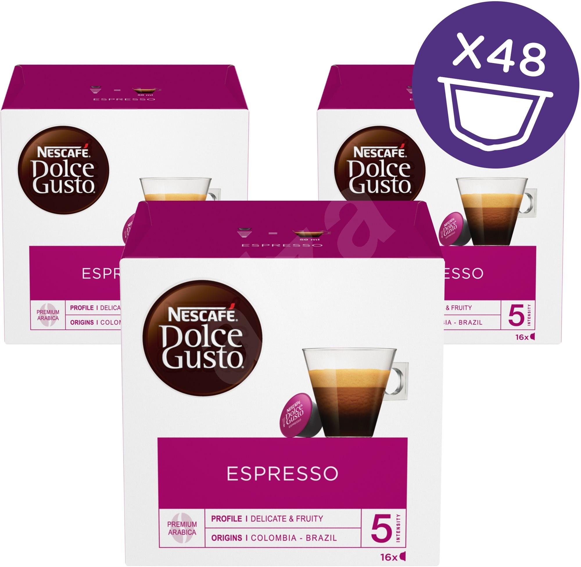 nescaf dolce gusto espresso 16 pcs x 3 coffee capsules. Black Bedroom Furniture Sets. Home Design Ideas