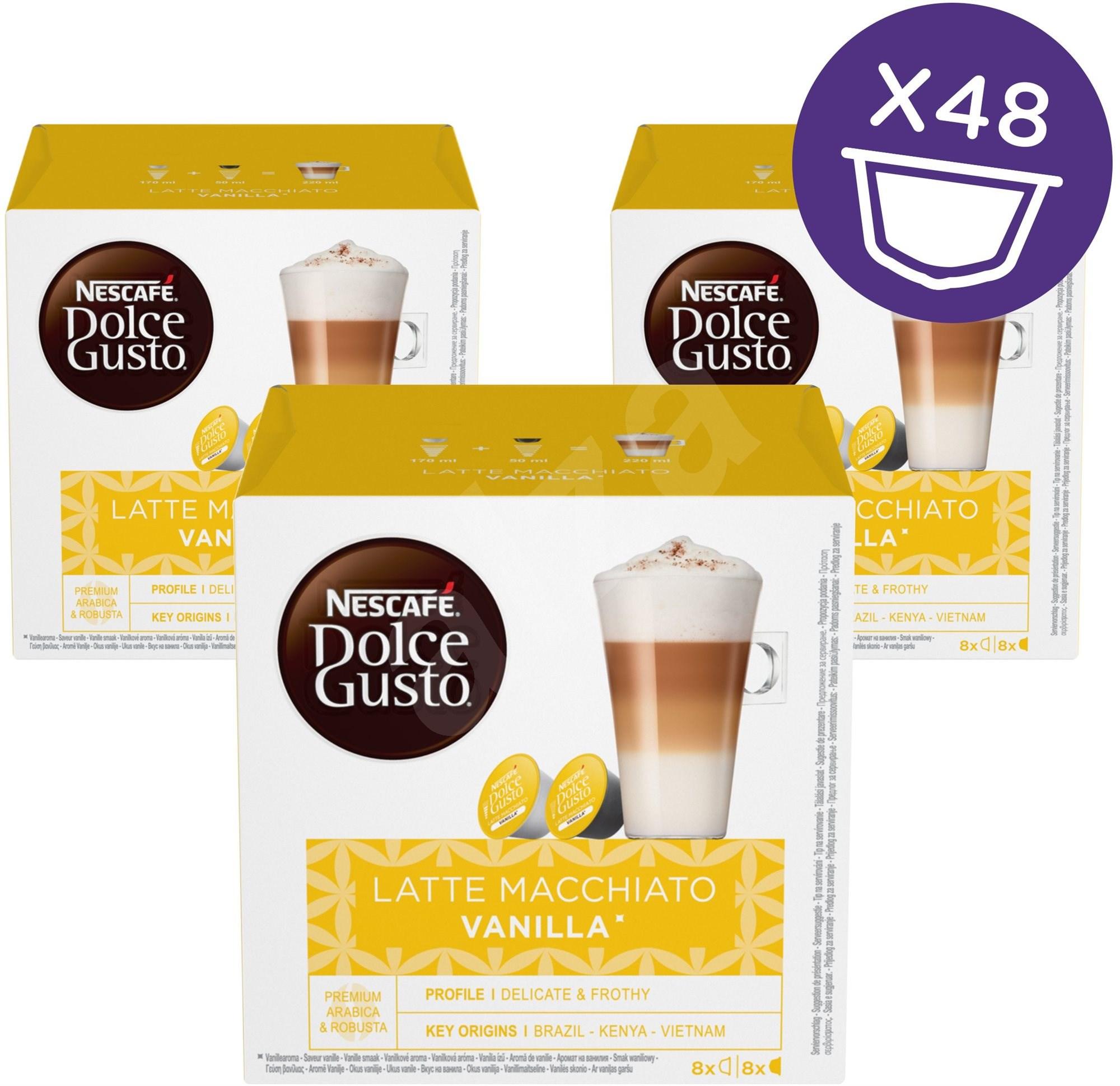 Nescafé Dolce Gusto Latte Macchiato Vanilla 16 Ks X 3