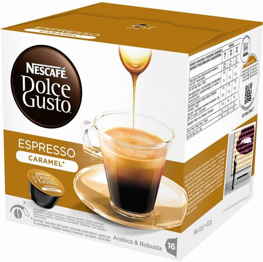 nescaf dolce gusto espresso caramel kaffeekapseln. Black Bedroom Furniture Sets. Home Design Ideas