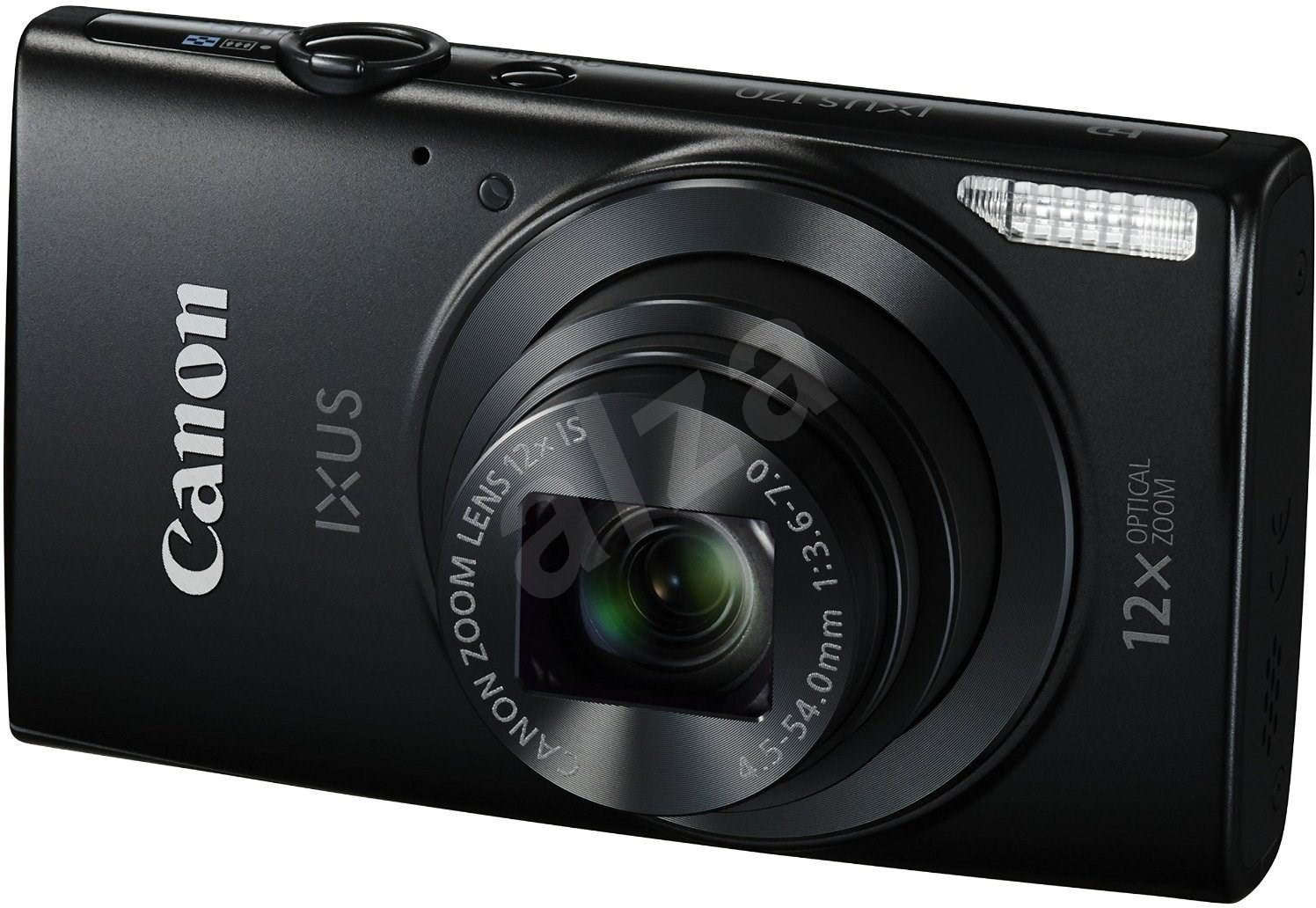 canon ixus 170 black digital camera. Black Bedroom Furniture Sets. Home Design Ideas