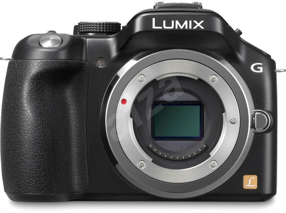 panasonic lumix dmc g6 black body digital camera. Black Bedroom Furniture Sets. Home Design Ideas