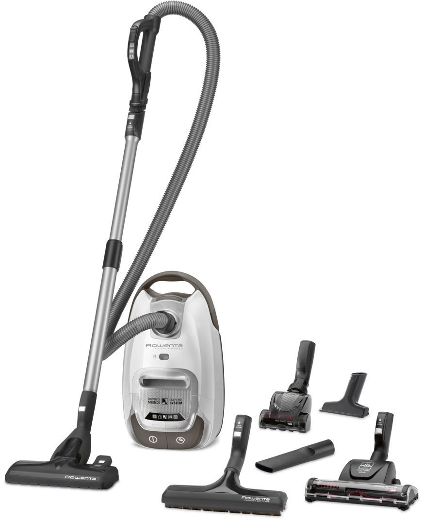 rowenta silence force extreme aaaa turbo animal care bagged vacuum cleaner. Black Bedroom Furniture Sets. Home Design Ideas