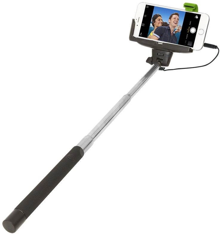 retrak wired selfie stick selfie stick. Black Bedroom Furniture Sets. Home Design Ideas