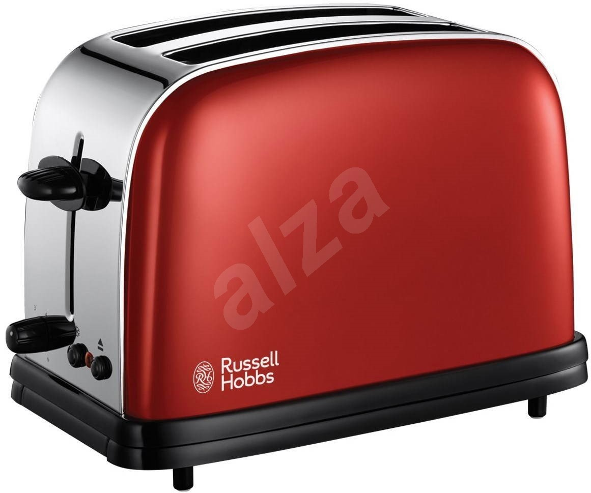 russell hobbs colors flame red toaster 18951 56. Black Bedroom Furniture Sets. Home Design Ideas