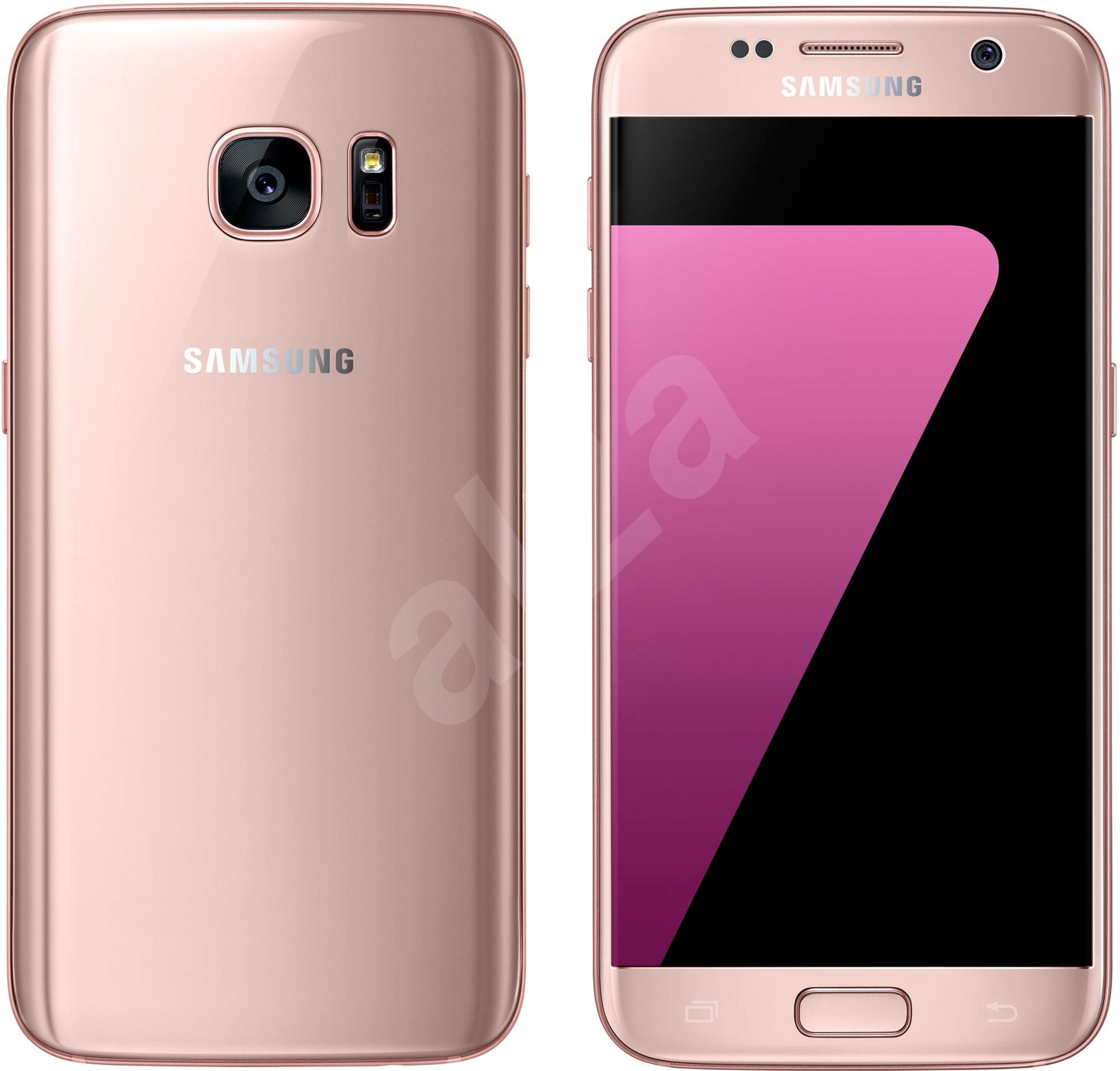 samsung galaxy s7 pink mobile telephone. Black Bedroom Furniture Sets. Home Design Ideas