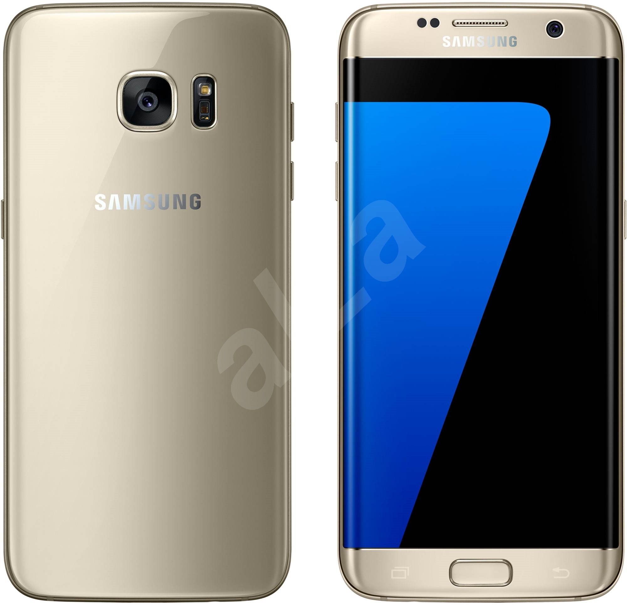 samsung galaxy s7 edge sm g935f gold mobile phone. Black Bedroom Furniture Sets. Home Design Ideas