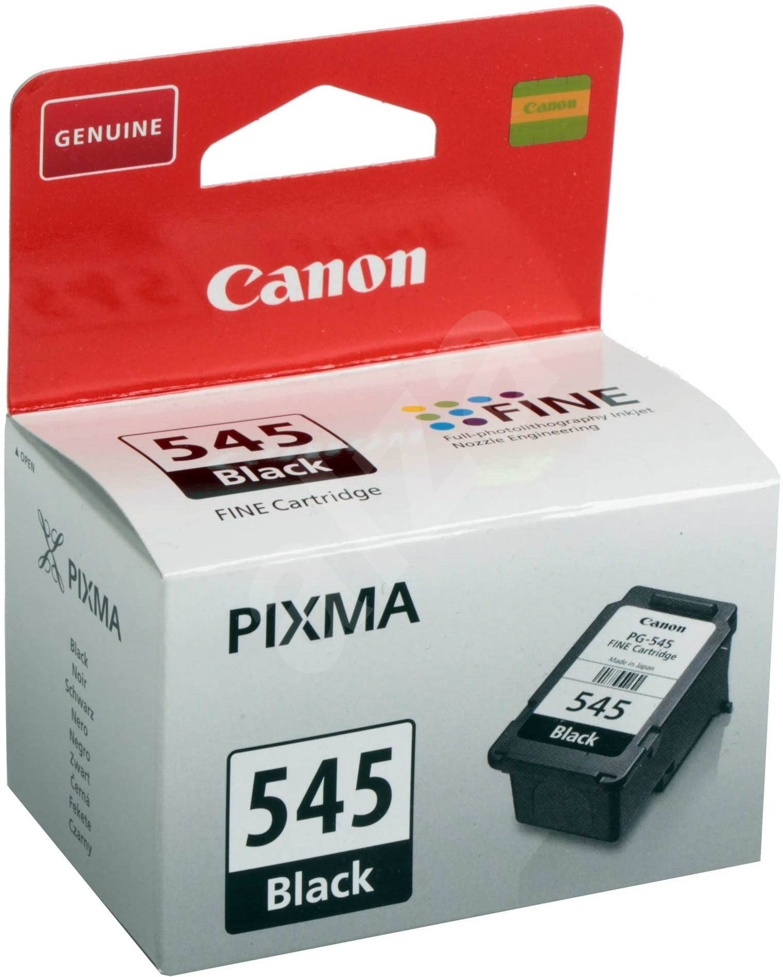 canon pg 545 black cartridge. Black Bedroom Furniture Sets. Home Design Ideas