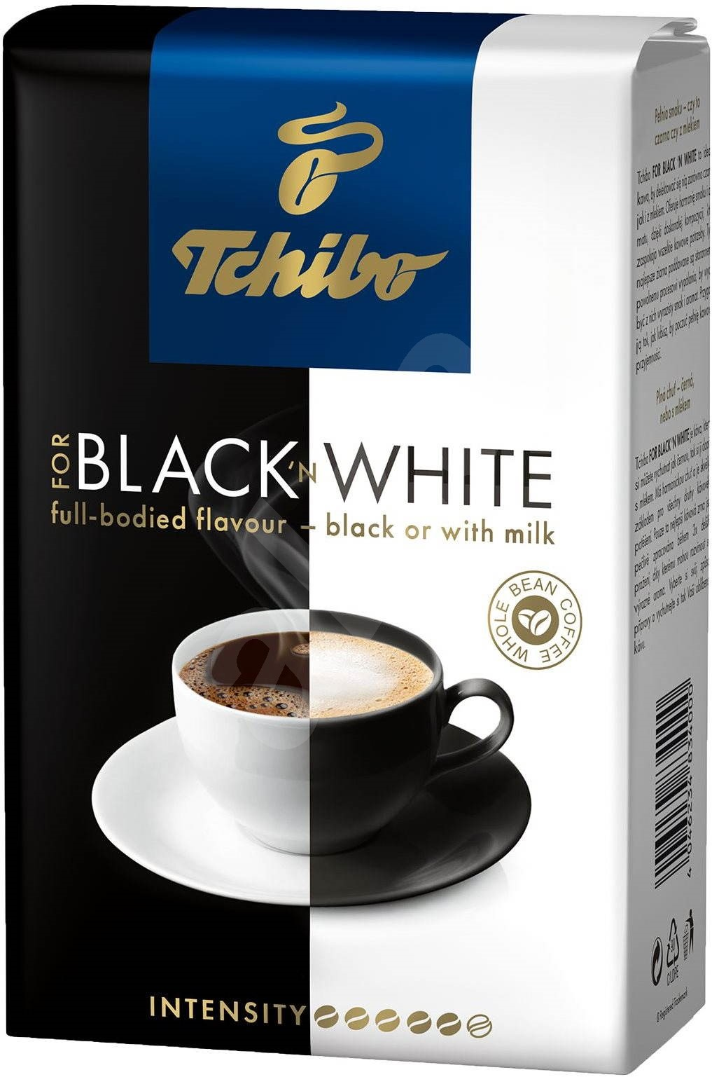 tchibo black white 500g beans coffee. Black Bedroom Furniture Sets. Home Design Ideas