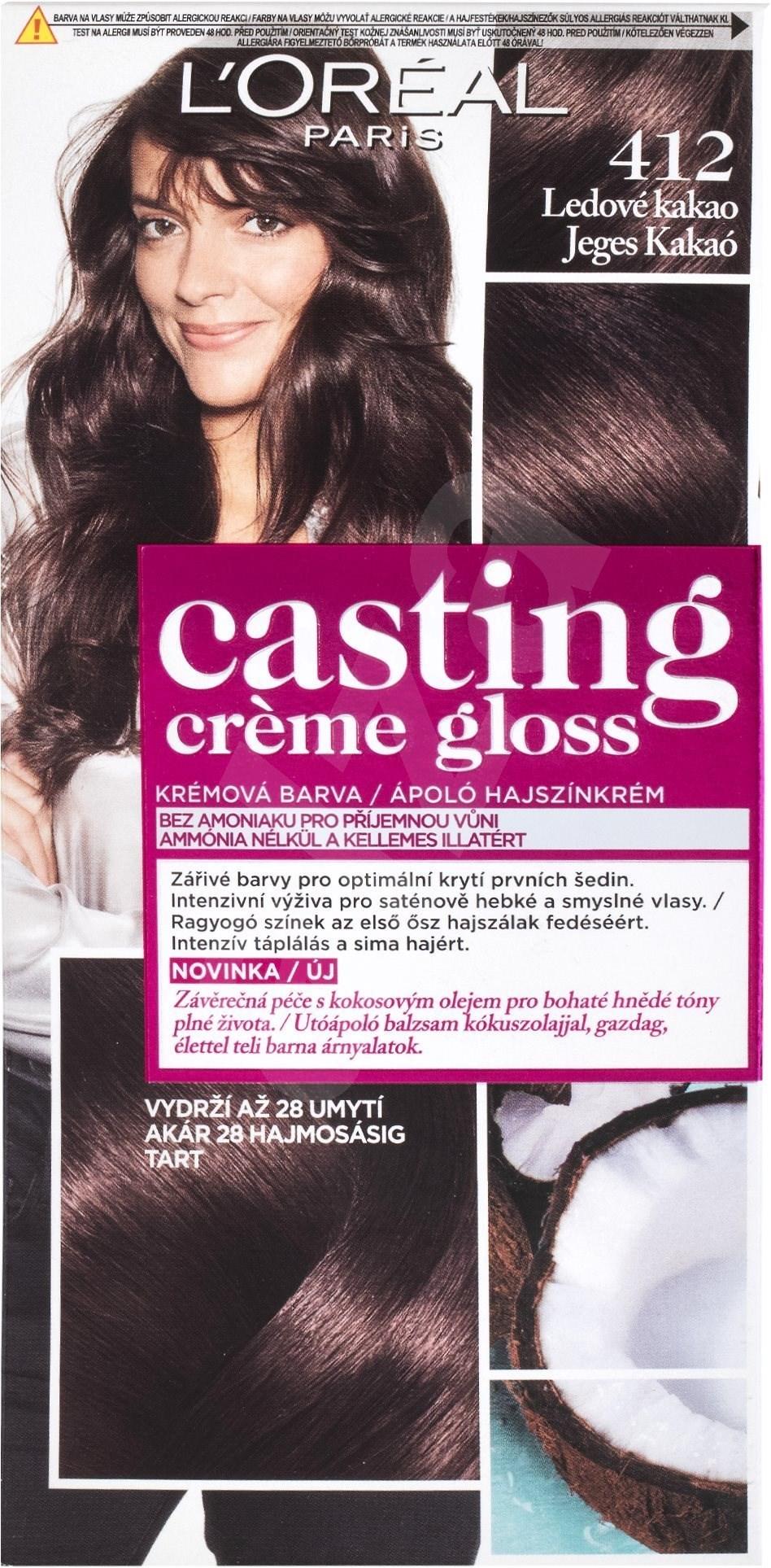 Loreal Casting Creme Gloss 412 Ľadov 233 Kakao Farba Na