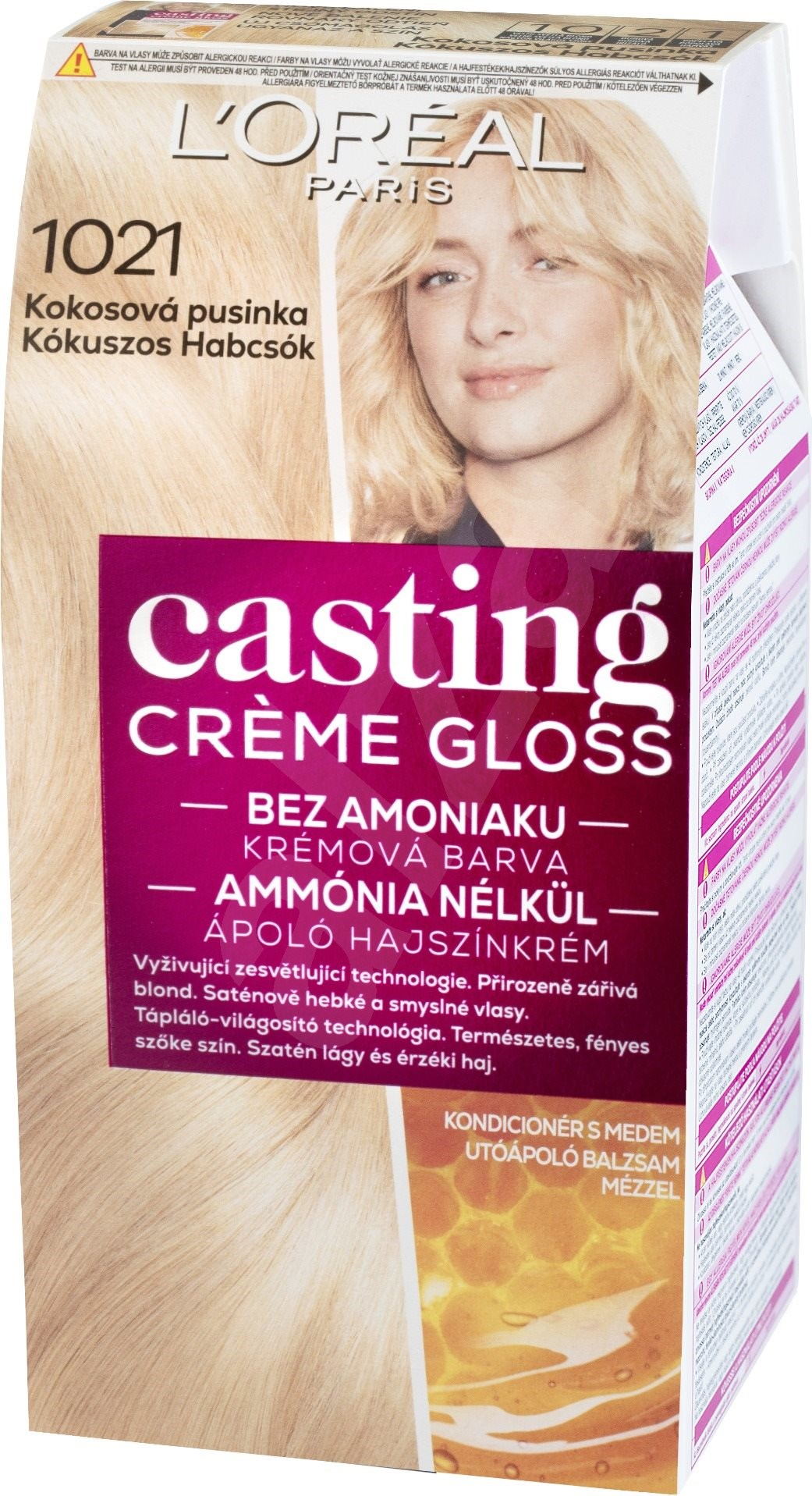 L Or 201 Al Casting Creme Gloss 1021 Blond Světl 225 Perleťov 225