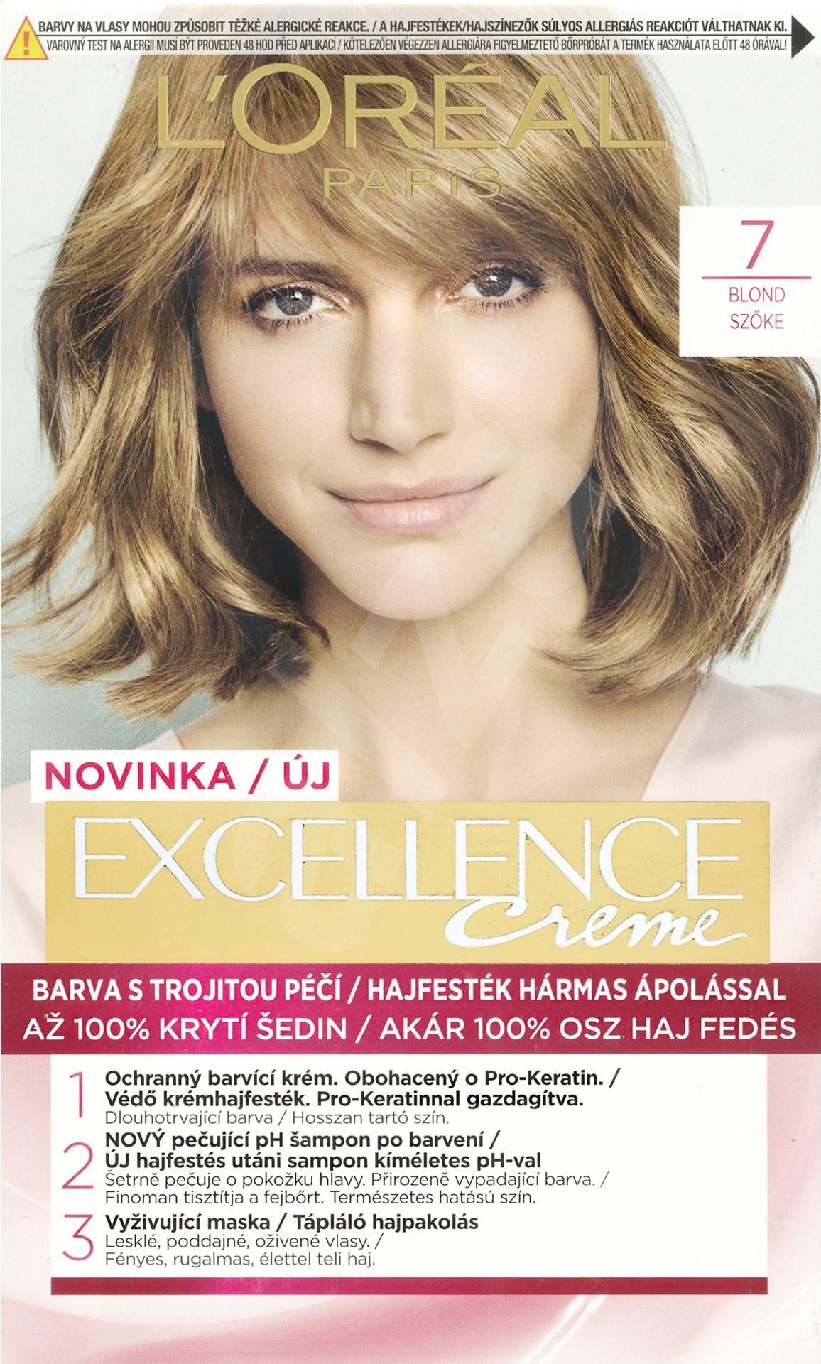 L Or 201 Al Excellence Creme 7 Blond Farba Na Vlasy Alza