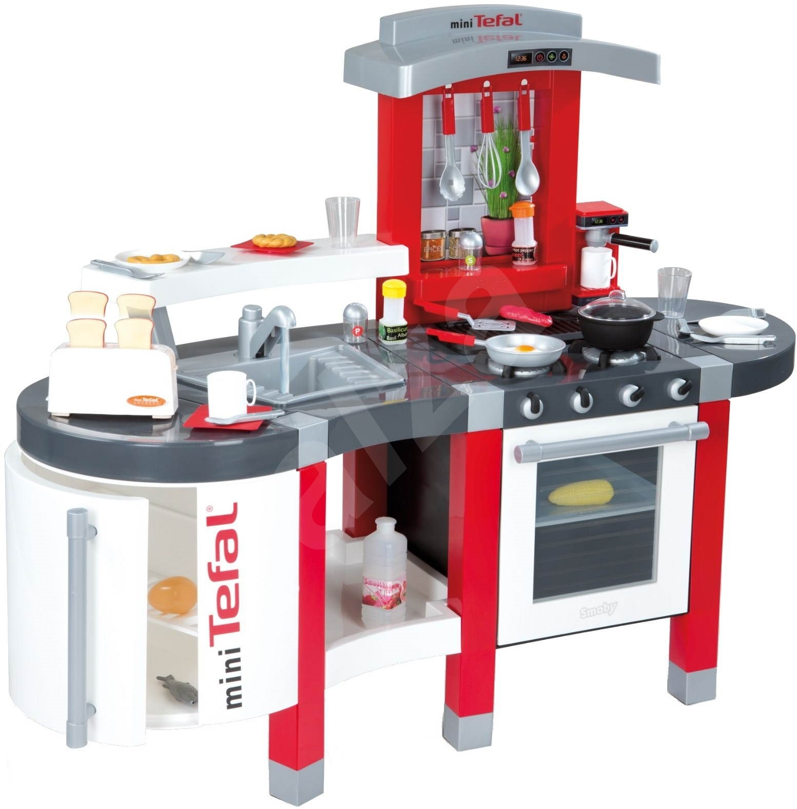 Tefal super chef kitchen with running water play set toys for Kitchen set toy kingdom