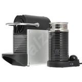 nespresso de longhi pixie milk en125 sae silver color automatic coffee machine. Black Bedroom Furniture Sets. Home Design Ideas