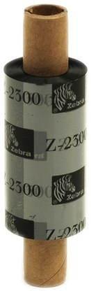 Zebra 2300 viasz festékszalag - fekete (33mm x 74m)