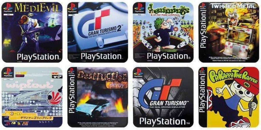 PlayStation - gamer poháralátétek