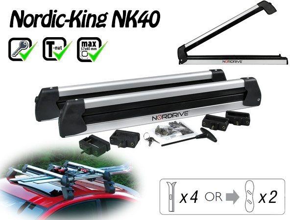 Nordrive Nordic King Evo 4 pár síléchez/2 snowboardhoz