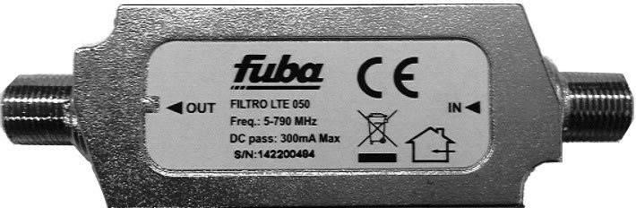 Fuba LTE szűrő LTE050