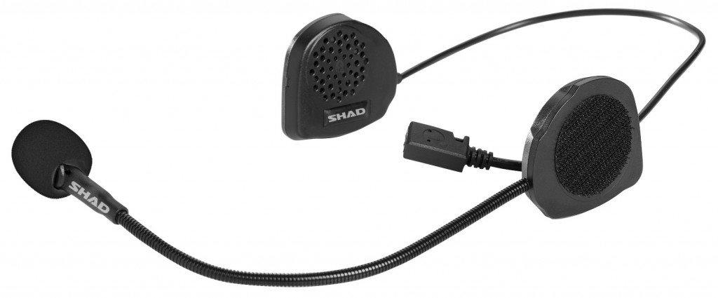 SHAD Hands Free szett BC02 telefon/GPS/zene