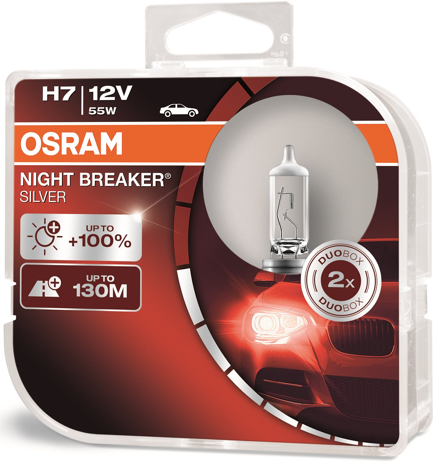 OSRAM H7 Night Breaker SILVER +100%, 2 db