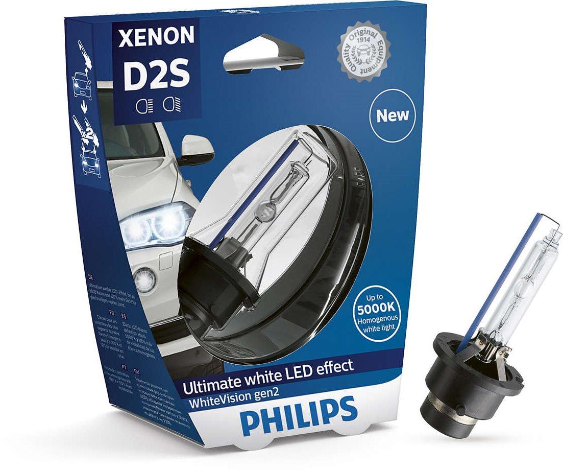 PHILIPS Xenon WhiteVision D2S 1 db